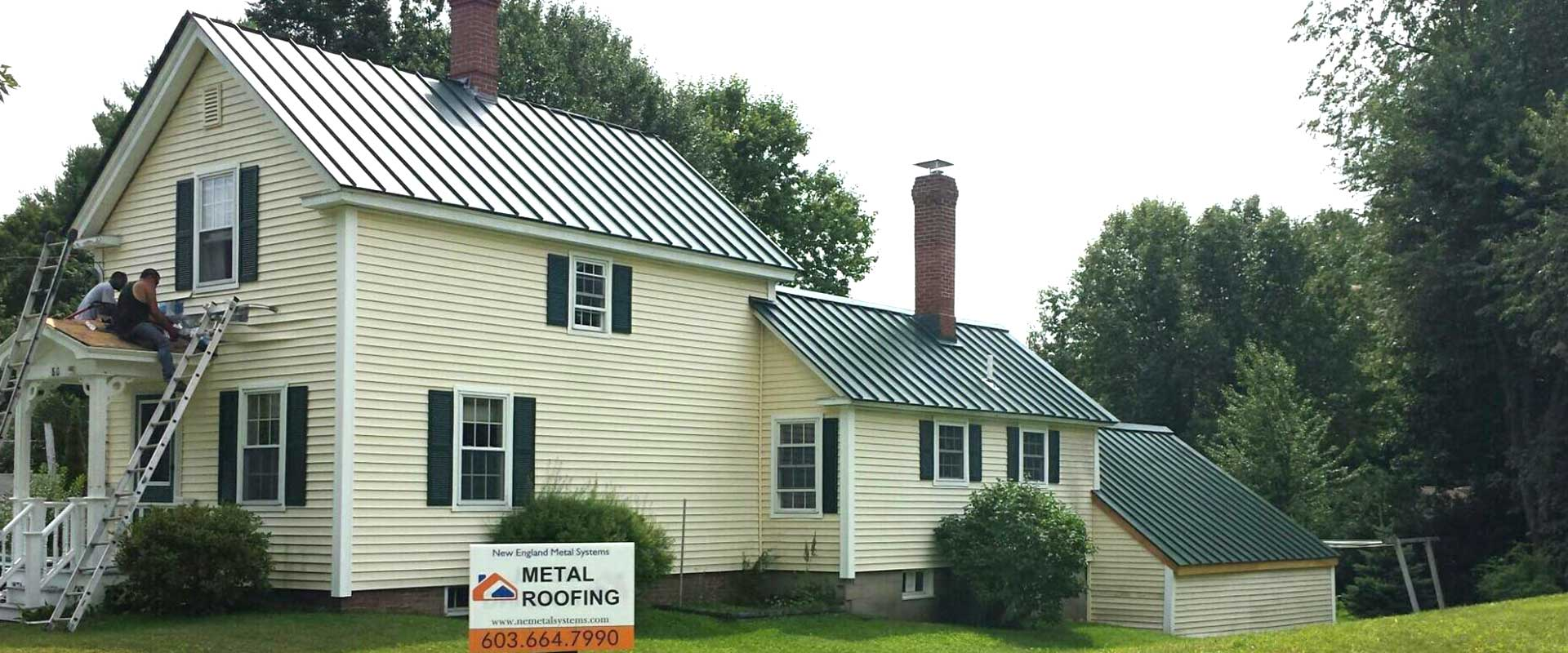 Metal Roofing East Kingston Exeter Newton Nh New